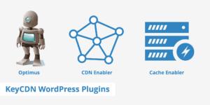 cdn enabler cache enabler and optimus wordpress plugins keycdn