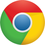 gaming the google network chrome logo