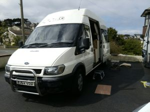 getting ready for camper van trip away work from home or from a campervan anywhere