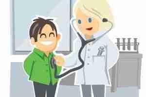 seo wordpress checkup playing doctor and nurse